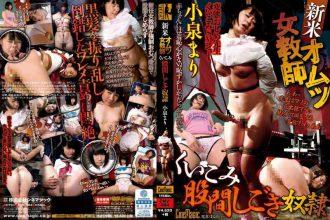 CMV-084 Novice Diaper Woman Teacher Bite Crotch Ironing Slave Mari Koizumi